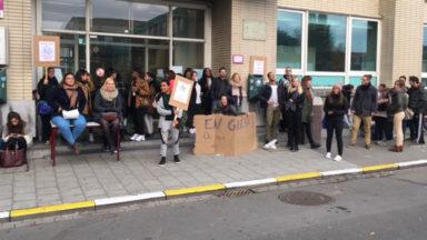 Grève prolongée à la haute école Lucia de Brouckère à Anderlecht