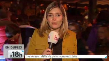 Halloween : un cortège d'une centaine de petits monstres à Jette