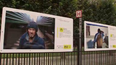 «Droits dans les yeux» : des photos pour sensibiliser aux droits humains au Parc de Bruxelles