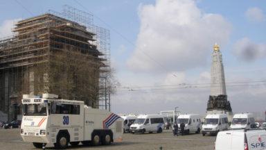 Fin de l'alerte à la bombe au Palais de Justice