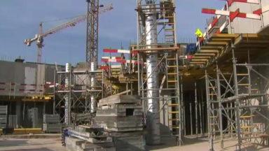 Ville de Bruxelles : début du chantier du  projet Roue