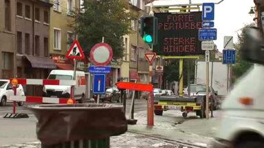 Porte de Ninove : 30% de la zone du chantier sera rouvert à la circulation dès lundi
