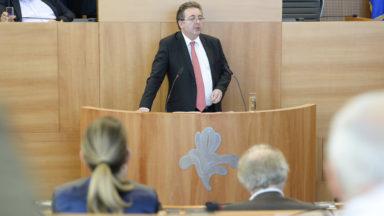 Déclaration de politique générale : Rudi Vervoort veut poursuivre les efforts du gouvernement