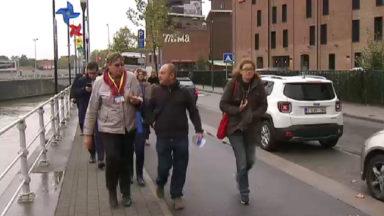 Molenbeek : la presse internationale visite des projets du Fonds européen de développement économique et régional
