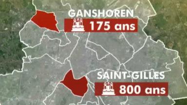 Saint-Gilles fête ses 800 ans, Ganshoren, ses 175 ans : comment expliquer cette différence ?