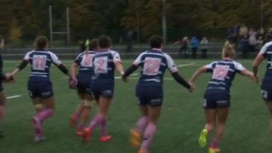 Rugby : les Boitsfortoises mises à l'honneur