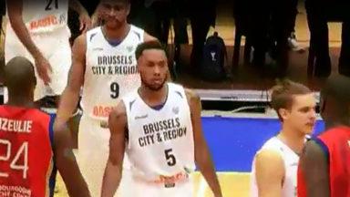 Euromillions Basket League: victoire du Brussels sur Kangoeroes Malines