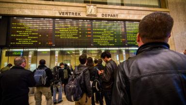 Le trafic ferroviaire a repris à Bruxelles