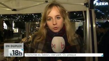 Nocturnes du Sablon : dégustez un repas à 50m de hauteur dans le traîneau du père Noël