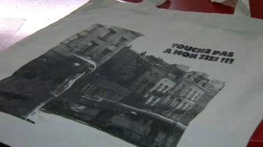 Le zizi de Saint-Gilles s'invite sur des sacs et des t-shirts