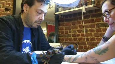 La Brussels Tattoo Convention s'est ouverte sur le site de Tour & Taxis