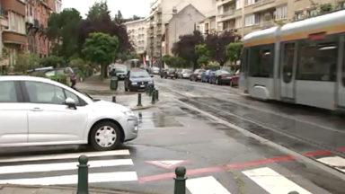 Sécurité routière : nouveaux feux de signalisation avenue du Pesage à Ixelles