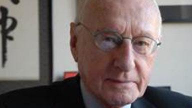 Le Baron André L. Jaumotte, ancien recteur de l'ULB s'est éteint