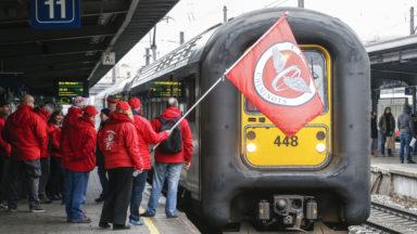 Les cheminots européens manifestent contre une plus grande libéralisation du rail