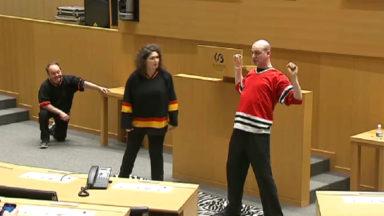 Impro et concerts au Parlement de la fédération Wallonie-Bruxelles