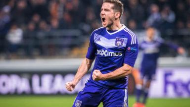 Europa League : après avoir mené Saint-Etienne, Anderlecht s'incline 2-3 et termine deuxième