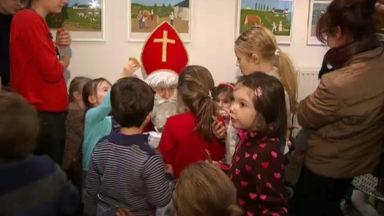 Le bonheur des enfants qui ont rencontré St Nicolas