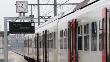 La circulation des trains rétablie sur les lignes Jette-Ternat et Jette-Termonde