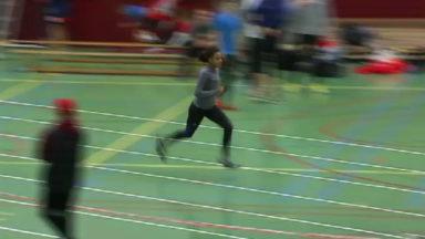Athlétisme : les jeunes s'entraînent en indoor