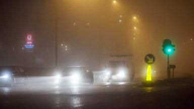 Météo: des routes rendues glissantes mercredi matin, prévient l'IRM