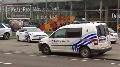 Alerte à la bombe à hauteur du garage Mercedes à Woluwe-Saint-Lambert : 14 hectares évacués