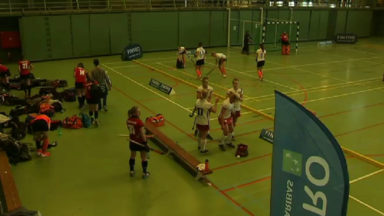 Hockey féminin indoor : victoire du White Star contre l'Antwerp