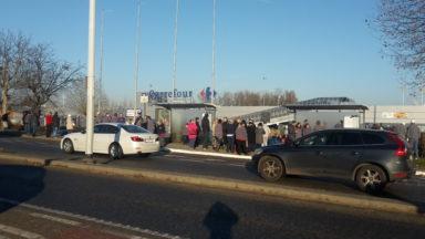 Le magasin Carrefour à Crainhem évacué après une alerte à la bombe