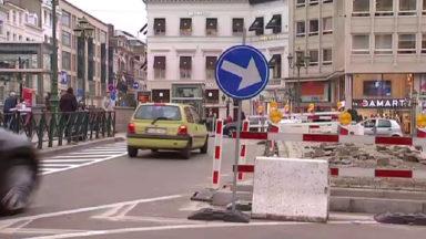 Rond-point Louise : l'aménagement provisoire aurait déjà coûté 300.000 euros