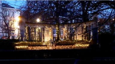 Saint-Josse : 30 ans d'illuminations de Noël au square Armand Steurs