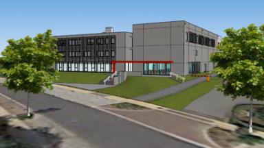 Anderlecht : première pierre d'un centre de formation aux métiers techniques et industriels