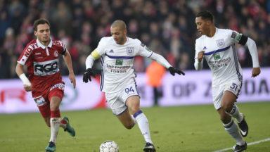 Victoire 1-3 d'Anderlecht à Courtrai