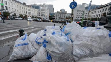 Fête du sacrifice : Bruxelles-Propreté constate une baisse du nombre de sacs-poubelle