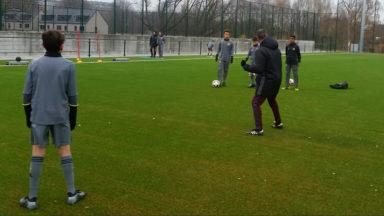 Anderlecht inaugure ses deux nouveaux terrains synthétiques