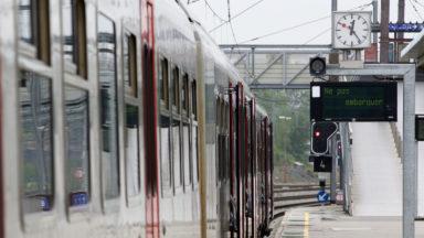 La circulation ferroviaire reprend entre Asse et Jette