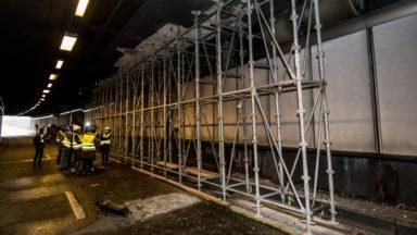 Le tunnel Montgomery rouvrira bien à la mi-décembre