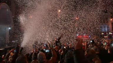 Un réveillon du Nouvel an sous haute surveillance et dans une ambiance joviale à Bruxelles