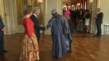 Réception des chefs de Missions diplomatiques au Palais Royal