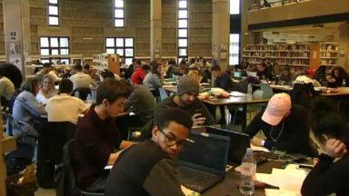 Blocus : bientôt un système de disque bleu pour garder sa place en bibliothèque ?