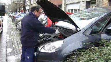 Vague de froid: les voitures capricieuses au démarrage