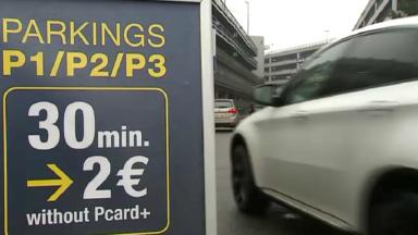 Tous les parkings de Brussels Airport sont complets