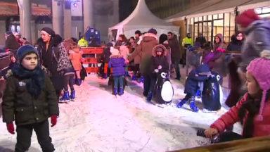 Les plaisirs d'hiver ont pris fin mais la patinoire reste accessible jusqu'au 8 janvier