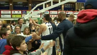 Basket : le Basic Fit Brussels bat très nettement l'Antwerp 86-69
