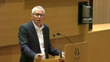 Bernard De Vos, délégué des Droits de l'enfant, présente son rapport annuel aux parlementaires