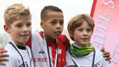Championnat de Bruxelles de cross dans des conditions très hivernales