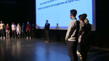Le documentaire «Les Invisibles» traitant du djihad présenté à des jeunes au KVS
