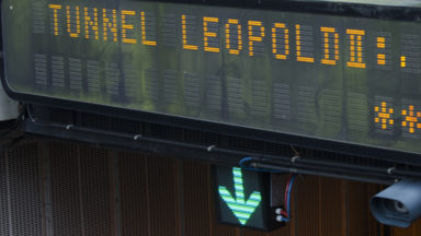 Bientôt un «radar tronçon» dans le tunnel Leopold II