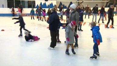 Autant le savoir : sur des patins à glace, tombez comme sur des skis !