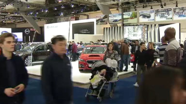 Plus de 80.000 personnes au premier week-end du Salon de l'Auto