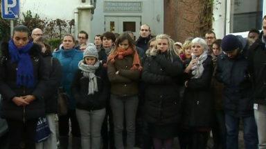 Une minute de silence à la commune de Ganshoren en hommage à son bourgmestre