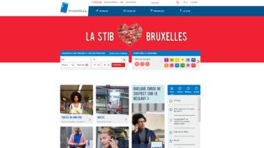 Nouveau look pour le site internet de la STIB